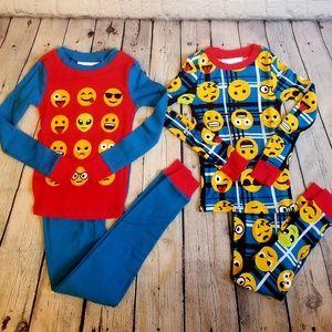 Other - Boys 4 emoji pyjama set